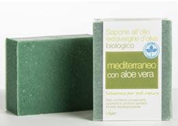 Saponaria sapone mediterraneo con aloe
