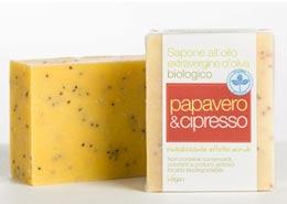 Saponaria sapone papavero e cipresso