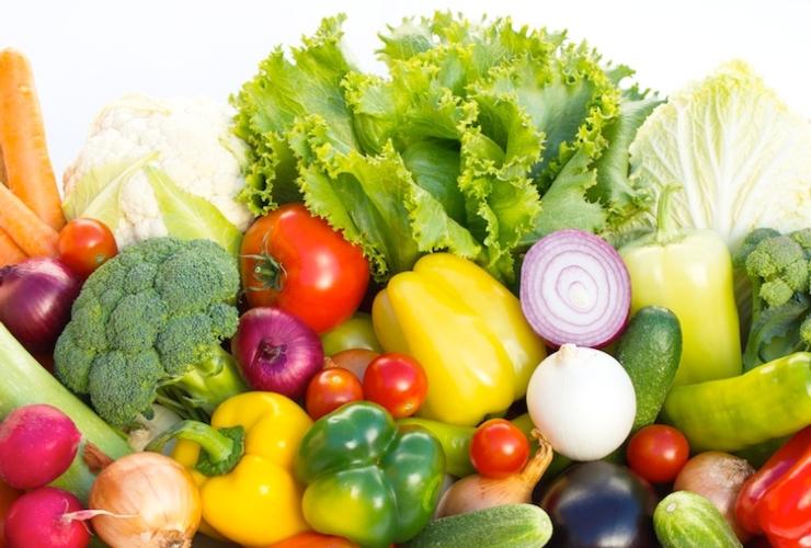 Benefici colori verdura